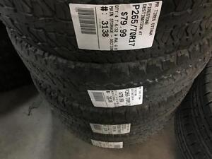 265/70/17 Firestone Destination AT *All-terrain Tires*