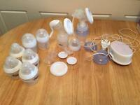 Avent steriliser and breast pump