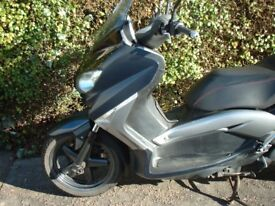 Yamaha xmax ,exhaust ,tyre ,wheel , fork ,clutch ,engine panel ,light ,shock
