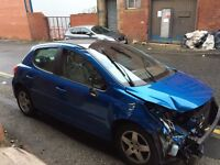 PEUGEOT 207 S 1.4 16 VALVE 8FS DAMAGED SALVAGE BREAKING SPARE PARTS 2006-2012