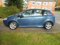 SPARES OR REPAIRS fiat punto grande 1.4 active semi/auto 5dr 2008 model 44,000 miles,mot june 2018,