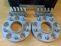 New 20mm Eibach Wheel Spacers Mazda Mitsubishi Hyundai Kia 5x114.3 For Alloys
