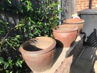 6 Large Pots