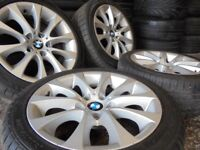 17inch genuine bmw m sport Alloys Wheels 3 e46 e90 e91 Series Vw T5 transporter Vauxhall Vivaro