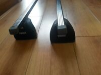 THULE Roof Bars complete. Ford C-Maxx 2004 - 2008