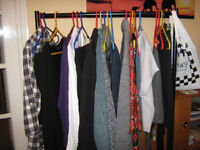 SELECTION OF WOMENS CLOTHING, COAT AND JACKET SIZE 12 UP TO 22
