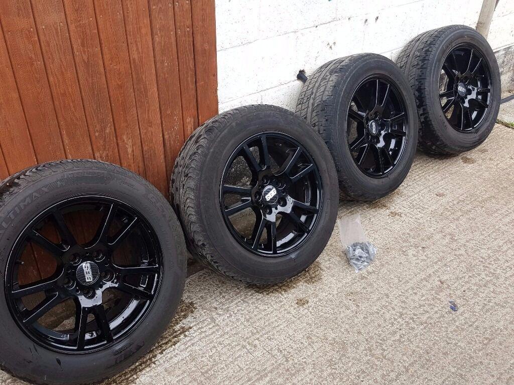 vw t5 genuine bbs alloy wheels size 235 55 17 5 x 120. Black Bedroom Furniture Sets. Home Design Ideas