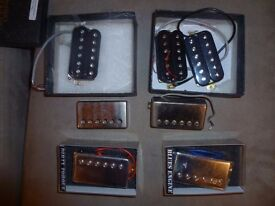 Wilkinson and Epiphone Humbuckers For Sale