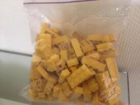 Assorted Lego and Lego style bricks