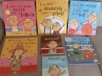 Charlie & Lola books