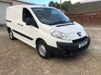 Peugeot, EXPERT, 1 owner from new 3 seater no vat VERY LOW MILES 34000 from new