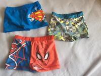 Boys swimming shots Bundle age 7-8 years