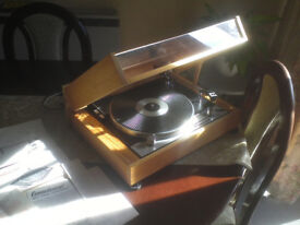 Connoisseur BD2 Transcription Turntable Fully Restored in Pine Crafted plinth-70's British Classic