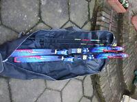 Salomon Force 9 Ski Skis and Ski Bag
