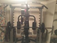 Multi gym equipment and loose weights
