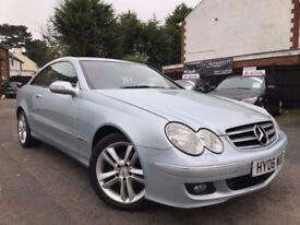 Mercedes-Benz CLK 2.1 CLK220 CDI Avantgarde Full Service History 2 Owners Great Condition +WARRANTY