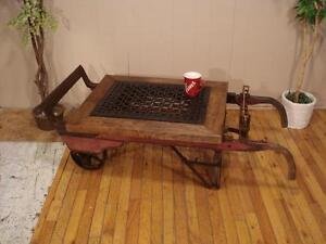 Vintage Grain Scale Coffee Table