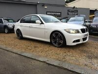 2009 59 BMW 320D M-SPORT Business Edition ..... AUTO ...... white .... LOW MILES .... P/X WELCOME