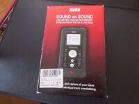 KORG SR1 Sound on Sound Unlimited Track Recorder