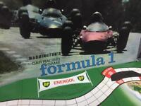 Vintage retro rare Waddingtons car racing Formula 1 Board Game SDHC