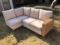 L shaped garden sofas