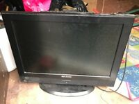 Flat screen television 18 inch