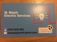 M Masih electrical services