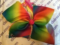 Large Rainbow JoJo bow - jojo siwa