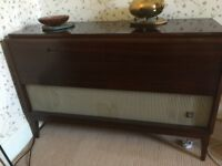 Retro vintage radiogram Phillips from late 50s