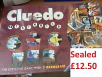 cluedo mysteries board game never opened collection from Didcot from a smoke and pet free home