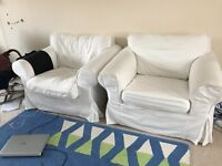 Two single sofa free to go