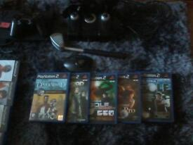 for sale ps2 with 40+ games also game track with games