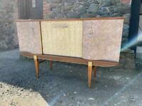 Mid compact century sideboard - upcycle project