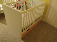 IKEA girl's cot bed with storage