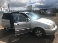 Kia Sedona LS Automatic 2.9 CRDI SPARE PARTS AVAILABLE BREAKING CAR