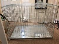 Dog crate for sale 90 x 60 x 66cm good condition