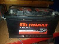 Van battery