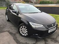 SEAT LEON 1.6 TDI SE MANUAL 2014 5 DOOR HATCHBACK FR LED HEADLIGHTS ONLY 23K MILES