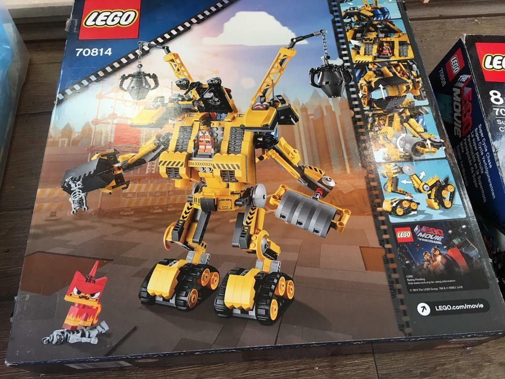 Reduced The Lego Movie Emmets Construct O Mech In Stretford