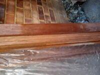 Hardwood window frames x 3
