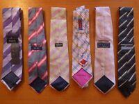 Beautiful 100% Silk Men's Neck Ties