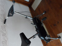 Shark exercise bike, easy ajustable difficulty, good condition