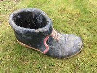 Boot garden planter