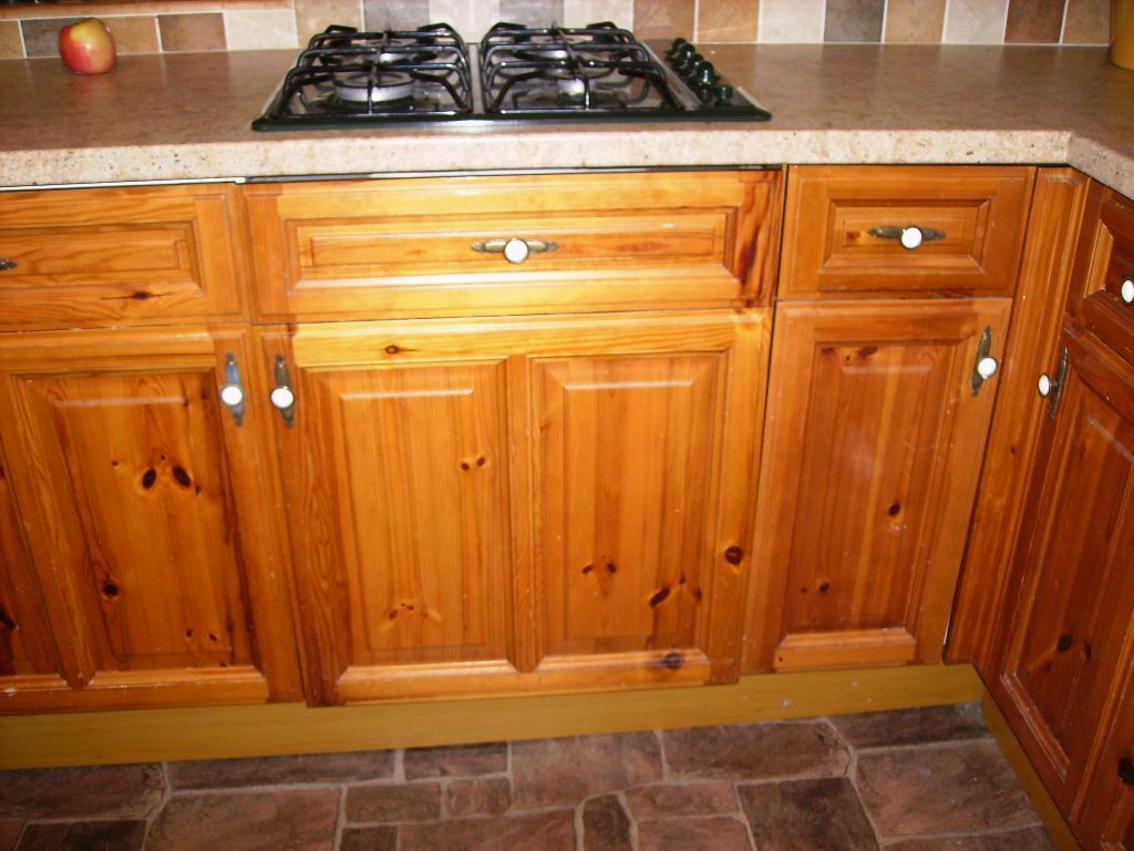 Pine kitchen cupboard doors and drawer fronts | in Swadlincote ...