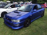 Subaru Impreza Wrx Awd Turbo 2000 UK classic