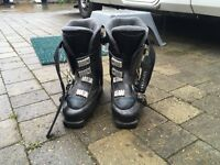 Head Ski Boots and Carry Bag