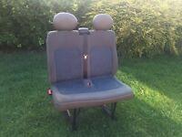 Renault Master / Vauxhall Movano / Nissan Interstar Twin Passenger Seat