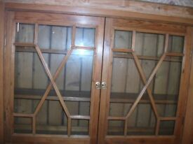 Wooden/Glass Display Cabinet
