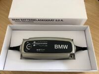BMW Genuine Car Trickle Battery Charger Conditioner 5.0a