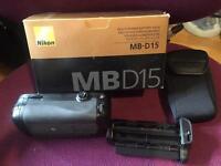 Nikon MB-D15 Battery grip for Nikon D7100/7200
